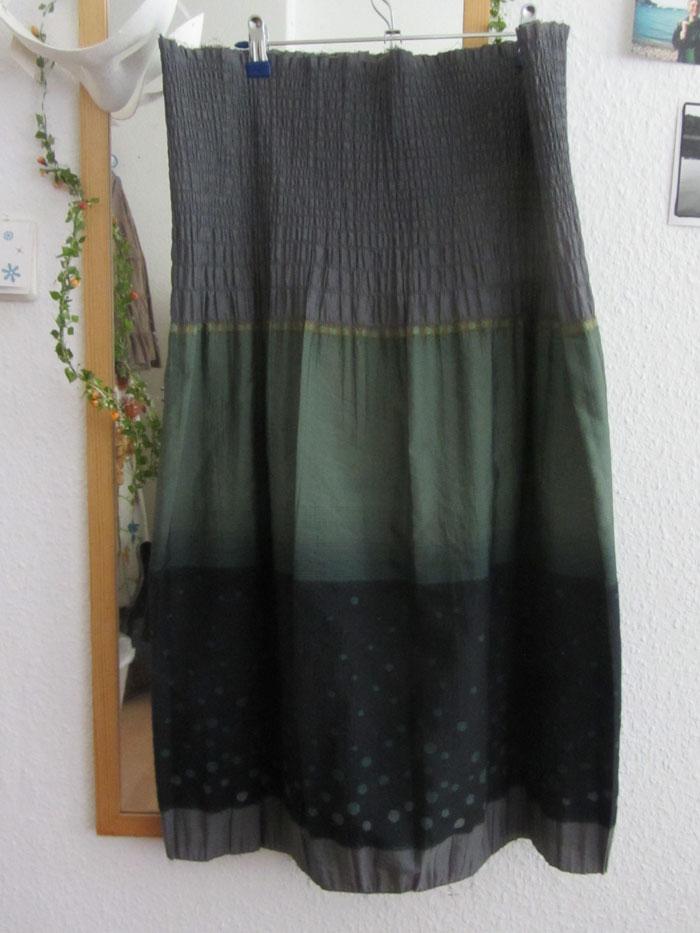 Das einfachste Kleid, das ich bisher genäht habe.