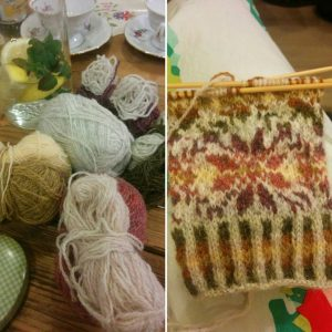 A week of knitting meetups I am getting there! wollenberlinhellip